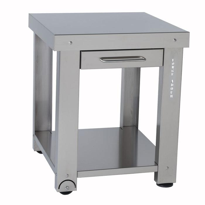 Table desserte inox - Desserte de table roulante ...
