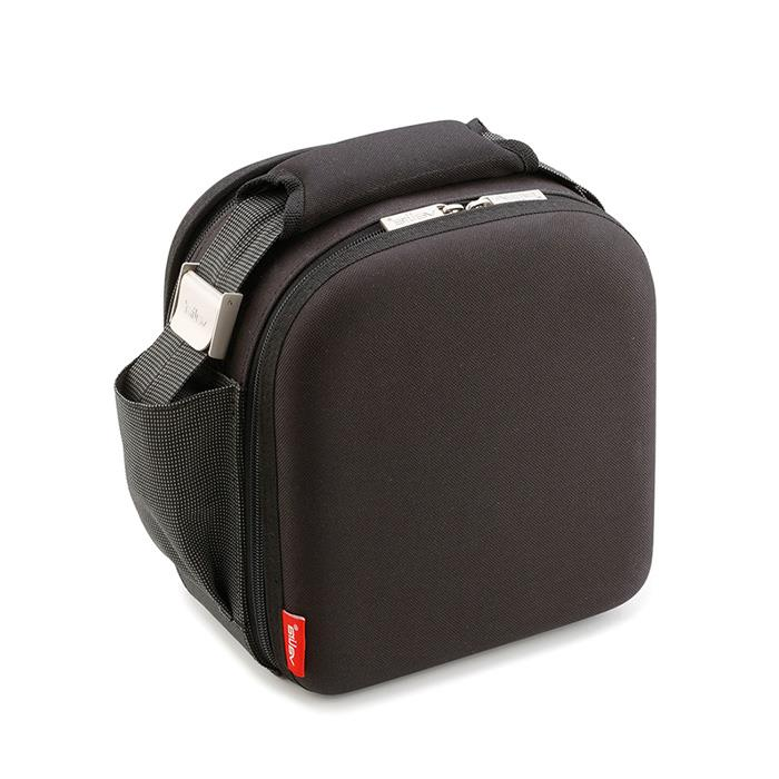 nomad compact sac isotherme coque rigide 2 boites repas lunch box pique nique noir la. Black Bedroom Furniture Sets. Home Design Ideas