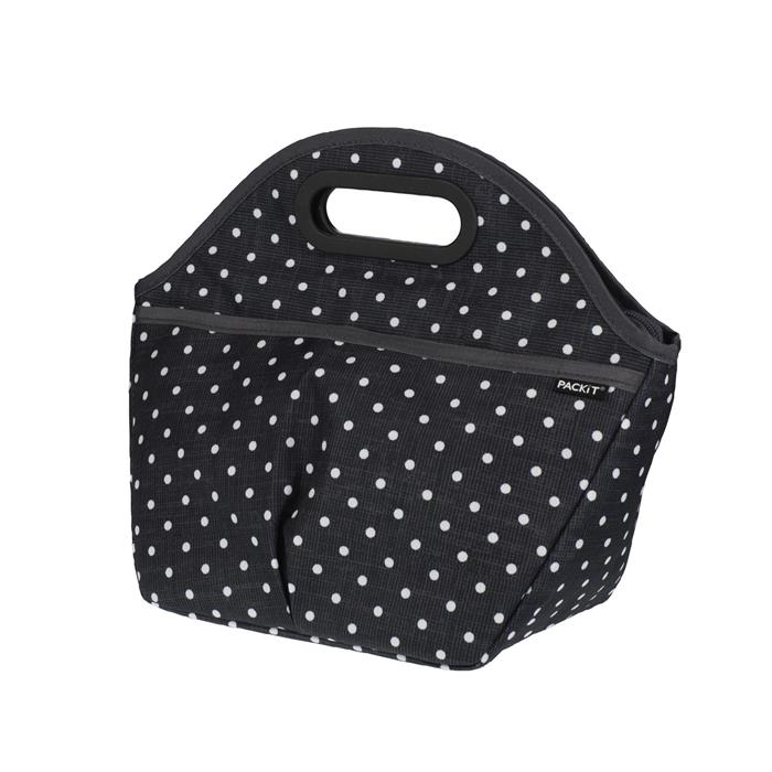 sac lunch box voyage isotherme 5 l pois packit polka dots la casserolerie. Black Bedroom Furniture Sets. Home Design Ideas